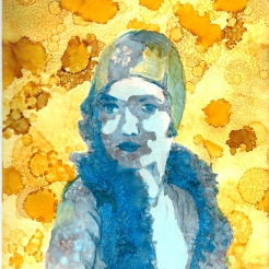 Framed Leila Hyams $120