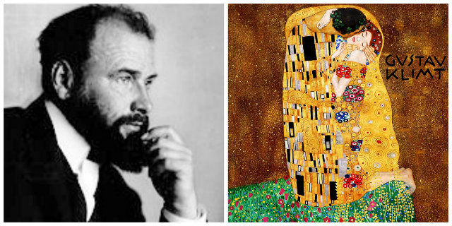 Klimt collage