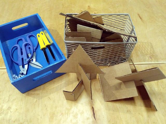 cardboard tools
