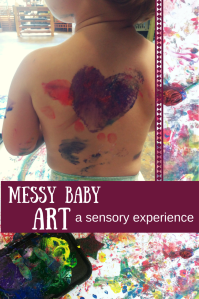 Messy Baby Art